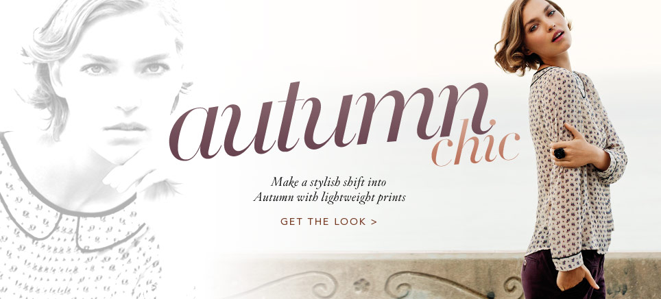 Autumn Chic - Get The Look
