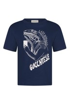 Nike Navy Campus T-Shirt (7-15yrs)