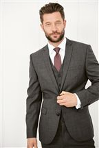 Slim Fit Suit: Jacket
