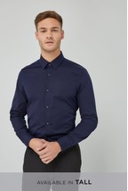 Plain Navy Shirt