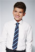White Long Sleeve Oxford Shirt (3-16yrs)