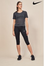 Nike Black Running Capri