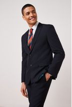 Navy Slim Fit Suit: Jacket