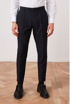 Navy Slim Fit Suit: Trousers