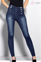 Lipsy Double Placket Highwaist Skinny Jeans