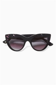 Black Premium Handmade Cat Eye Sunglasses