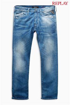 Replay® Waitom Slim Straight Fit Jean