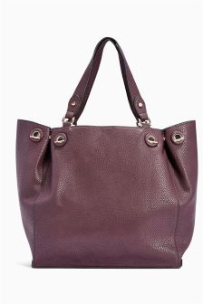 Eyelet Shopper Bag