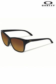 Black Oakley® Polarised Hold On Ladies Sunglasses