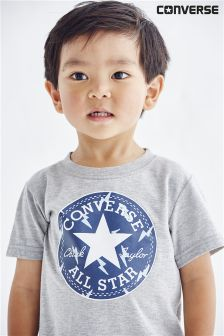 Grey Converse Grey Chuck Taylor T-Shirt (3mths-2yrs)