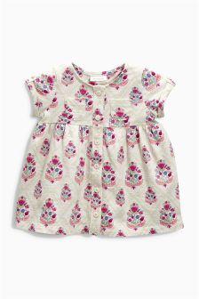 Print Jersey Dress (0mths-2yrs)