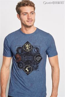 Blue Game Of Thrones T-Shirt