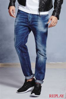 Replay® Resin Coated 901 Taper Fit Jean