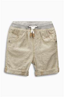 Ticking Stripe Shorts (3mths-6yrs)