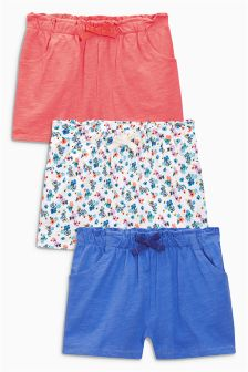 Multi Shorts Three Pack (3mths-6yrs)