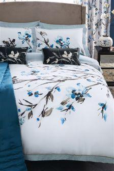 Cotton Sateen Nara Floral Bed Set