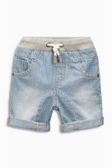Ticking Stripe Shorts (3mths-6yrs)