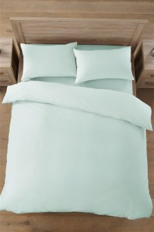 Cotton Rich Plain Dye Bed set