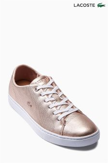 Lacoste® Rose Gold Showcourt Lace Up