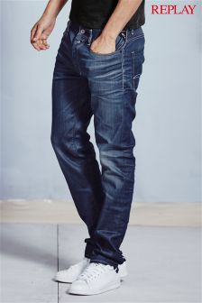 Replay® Resin Coated 901 Taper Fit Jean
