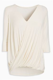 Drape Nursing Top