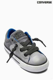 Grey Converse Chuck Taylor Highstreet Low