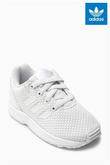 White adidas Originals Flux