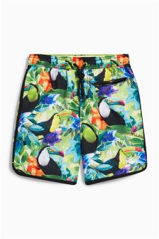 Multi Toucan Swim Shorts (3-16yrs)