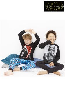 Multi Star Wars™ Pyjamas Two Pack (3-12yrs)