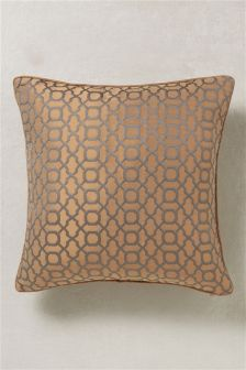 Large Woven Geo Cushion