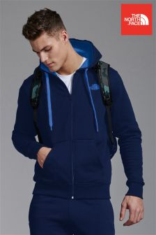 Blue The North Face® Blue Opgate Zip Through Hoody