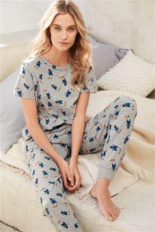Grey Jersey Toucan Pyjamas