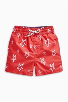 Red Star Shorts (3mths-6yrs)