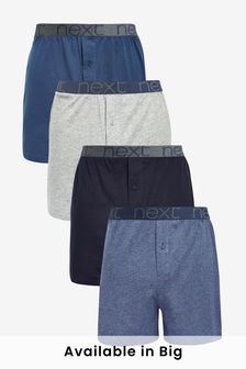 Blue Loose Fit Four Pack