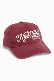 Burgundy NYC Baseball Cap