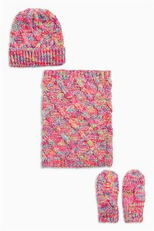 Three Piece Multi Cable Set (3-16yrs)