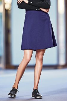 Blue Compact Full Skirt