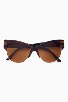 Tortoiseshell Effect Polarised Sunglasses
