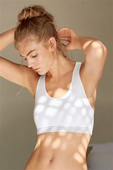 Micro Sports Non Wire Crop Top