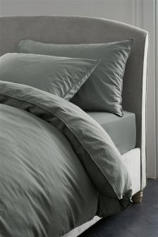 Washed Cotton Bed Set