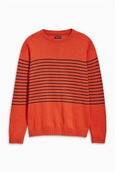 Breton Stripe Crew Neck (3-16yrs)