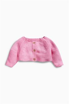 Pink Cardigan (0mths-2yrs)