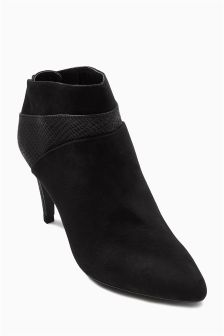 Forever Comfort Panel Ankle Boots