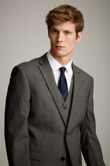 Pure Wool Suit: Jacket