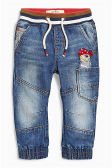 Mid Blue Pirate Jeans (3mths-6yrs)