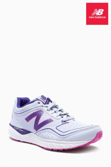 White/Purple New Balance 520 V2