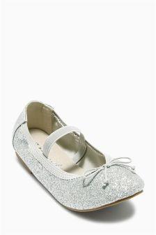Glitter Pumps (Younger Girls)