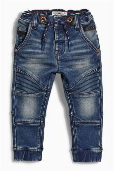 Jersey Biker Pull-On Jeans (3mths-6yrs)