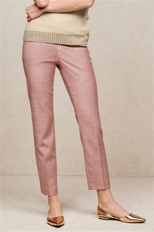 Pink Slim Trousers