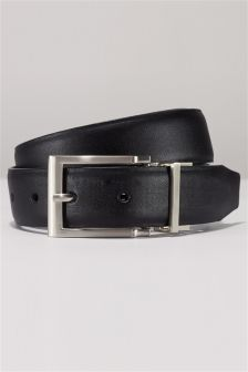 Black And Brown PU Reversible Belt